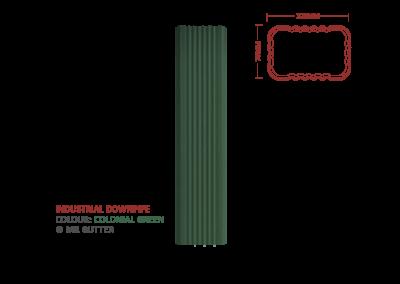 Mr Gutter Vaal mrgutter-colour-industrial-downpipe-colonial-green-400x284 Industrial Downpipe