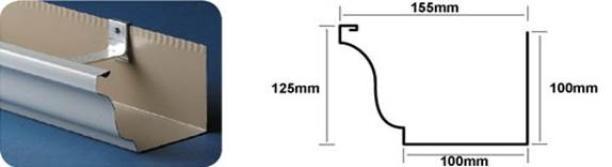 """Mr Gutter Vaal 6""""-150mm-x-100mm-Gutter-Profile Welcome"""