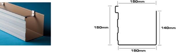 Mr Gutter Vaal BOX-150mm-x-150mm-Gutter-Profile Welcome