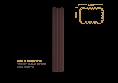 Mr Gutter Vaal mrgutter-colour-domestic-downpipe-safari-brown-400x284 Domestic Downpipe