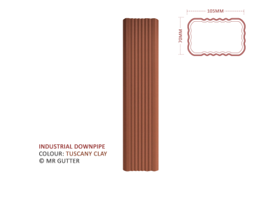 Mr Gutter Vaal mrgutter-colour-industrial-downpipe-tuscany-clay-400x284 Industrial Downpipe