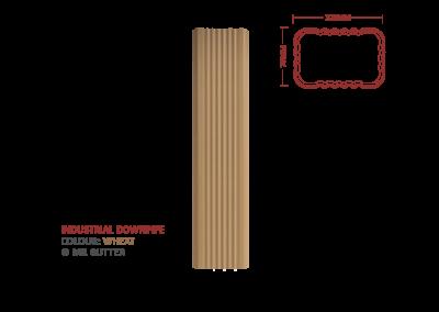 Mr Gutter Vaal mrgutter-colour-industrial-downpipe-wheat-400x284 Industrial Downpipe