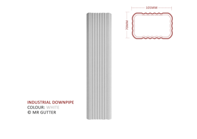 Mr Gutter Vaal mrgutter-colour-industrial-downpipe-white-400x284 Industrial Downpipe