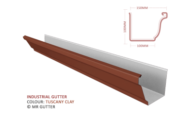 Mr Gutter Vaal mrgutter-colour-industrial-tuscany-clay-400x284 Industrial Gutter